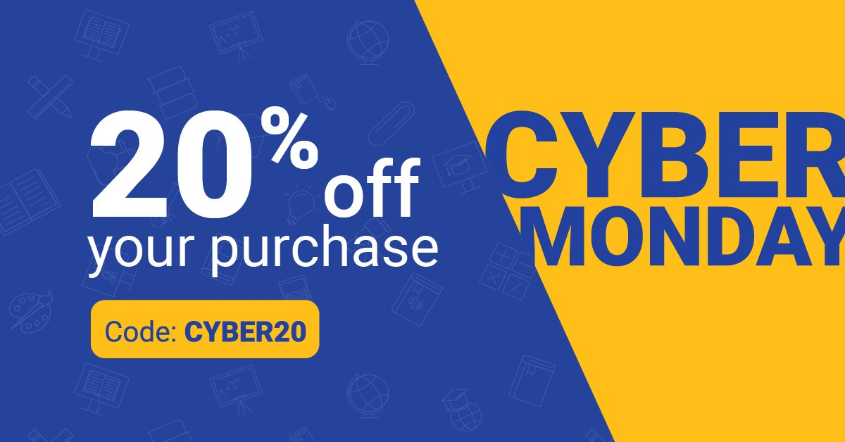 Happy Cyber Monday! Don't miss out — save 20% on your purchase: fal.cn/35o2f