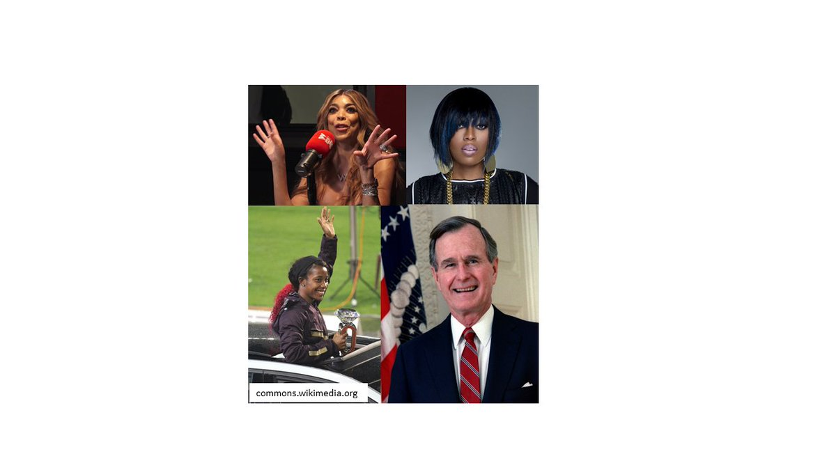 Graves' disease affects about 1 in 200 people in the US…including some celebrities like Wendy Williams, Missy Elliot, Gail Devers and former President George H.W. Bush.  @GDATF @AmThyroidAssn @TheAACE