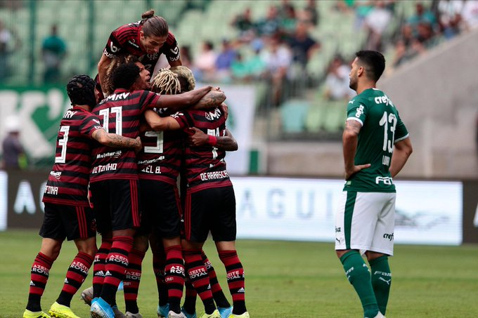 The run continues! With just 2 matches to play until their @FIFAcom Club World Cup debut, #Libertadores champions @Flamengo are unbeaten in  straight matches following yesterday's 3-1 win over @Palmeiras!    @Brasileirao<br>http://pic.twitter.com/oBt0w9sVKJ