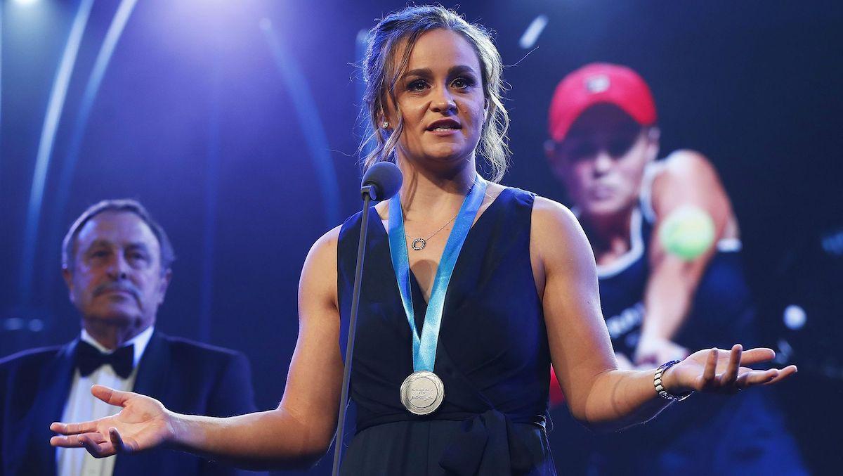 Лидер рейтинга WTA получила еще одну национальную награду