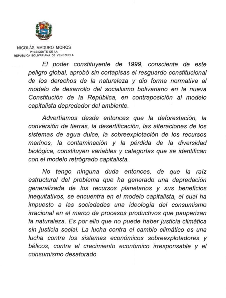 Tag cop25madrid en El Foro Militar de Venezuela  EKyanFEWoAAHk3-