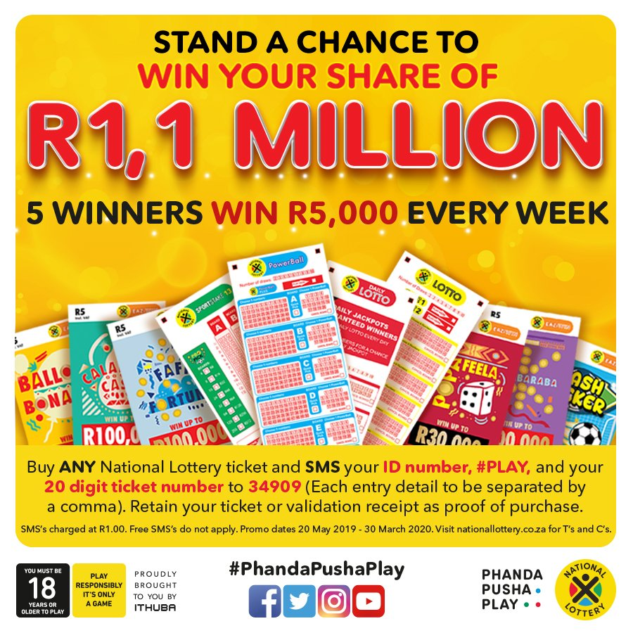 @sa_lottery hi guys played online can how do I enter?
