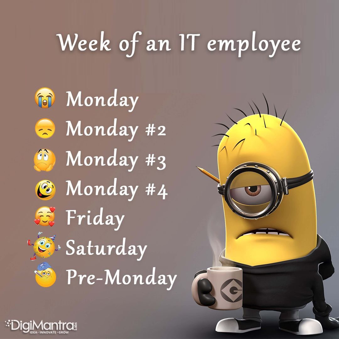 Lol mondays be like @digimantralabs <br>http://pic.twitter.com/aijzolJHNz