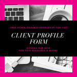We've compiled our favorite Client Profile Forms into a single, free resource for you!  We hope it is helpful!  💗 https://t.co/fqIDFAw7kB