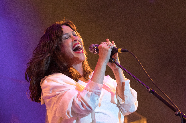 Alanis Morissette announces a 2020 Jagged Little Pill anniversary tour with Liz Phair and Garbage — plus her first new album in eight years, Such Pretty Forks in the Road, with new single Reasons I Drink rol.st/2qboRbg