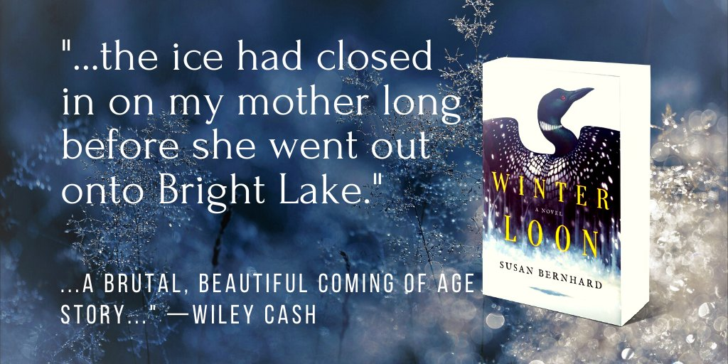 It's been a year since WINTER LOON debuted and I am so incredibly thankful to readers who have embraced this novel and to friends and fellow writers who have accompanied me on this journey. Peace to you all in this season when hope can be heavy. Take courage!