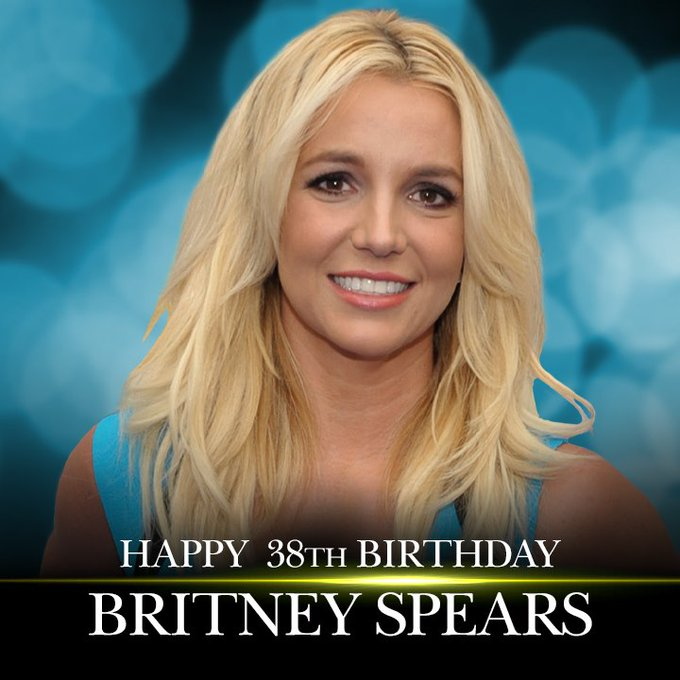 Happy 38th birthday to singer Britney Spears!