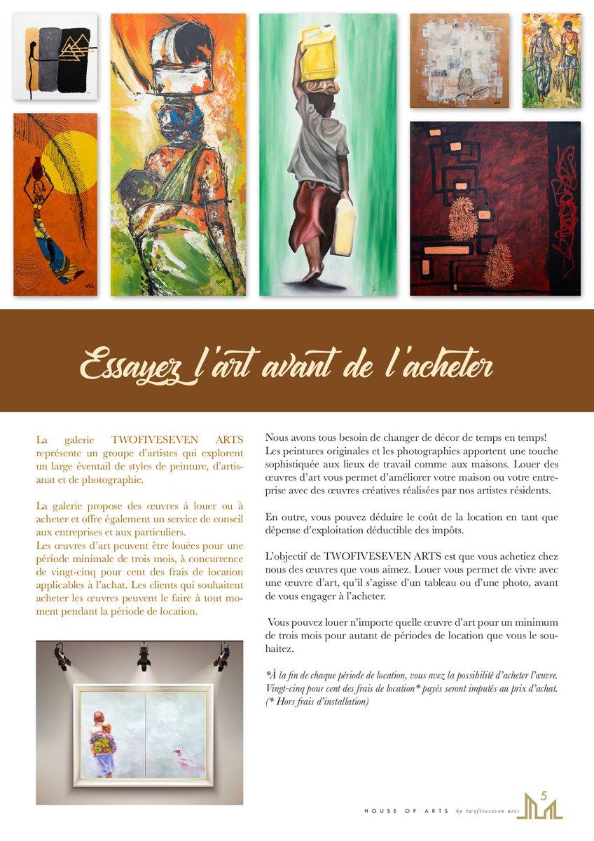 """Prix D Un Tableau D Artiste jimbere on twitter: """"🔵 avec le programme """"#art for"""