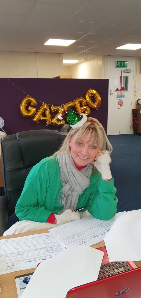 The festive celebrations have begun here at Gazebo with our Charity fancy dress day!x