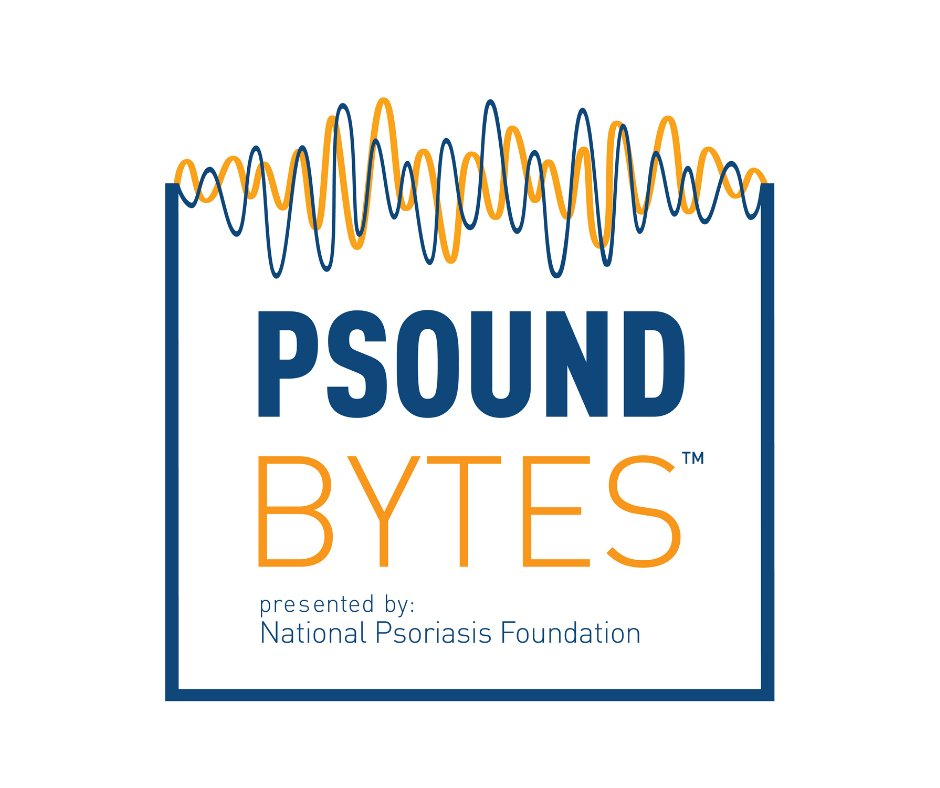 Another episode of Psound Bytes will be available tomorrow. Hear how finally admitting the impact #psoriasis had on her life led Sarah to the right treatment. ow.ly/YXbZ50xlq2t