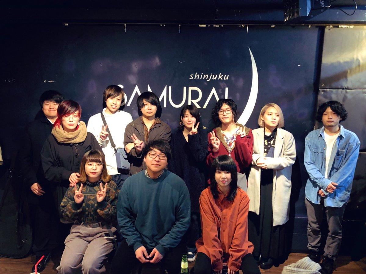 2019.12.02 新宿SAMURAIいつかのネモフィラ 3rd single「終電はあるのに歩いて帰ろう」リリースツアー、本日をもって終了しました。ファイナルの今日今できることはきっとやった。でも次はもっと良くなるから楽しみにしててほしいネモフィラってバンドやばいって言わせます本当にありがとう