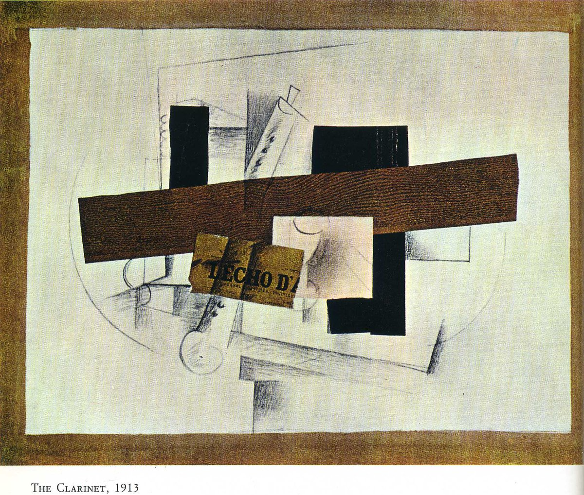 The Clarinet (Tenora), 1913 #syntheticcubism #frenchart<br>http://pic.twitter.com/2ncDbLXO86
