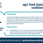 Image for the Tweet beginning: The Agri-Food Chain Coalition is