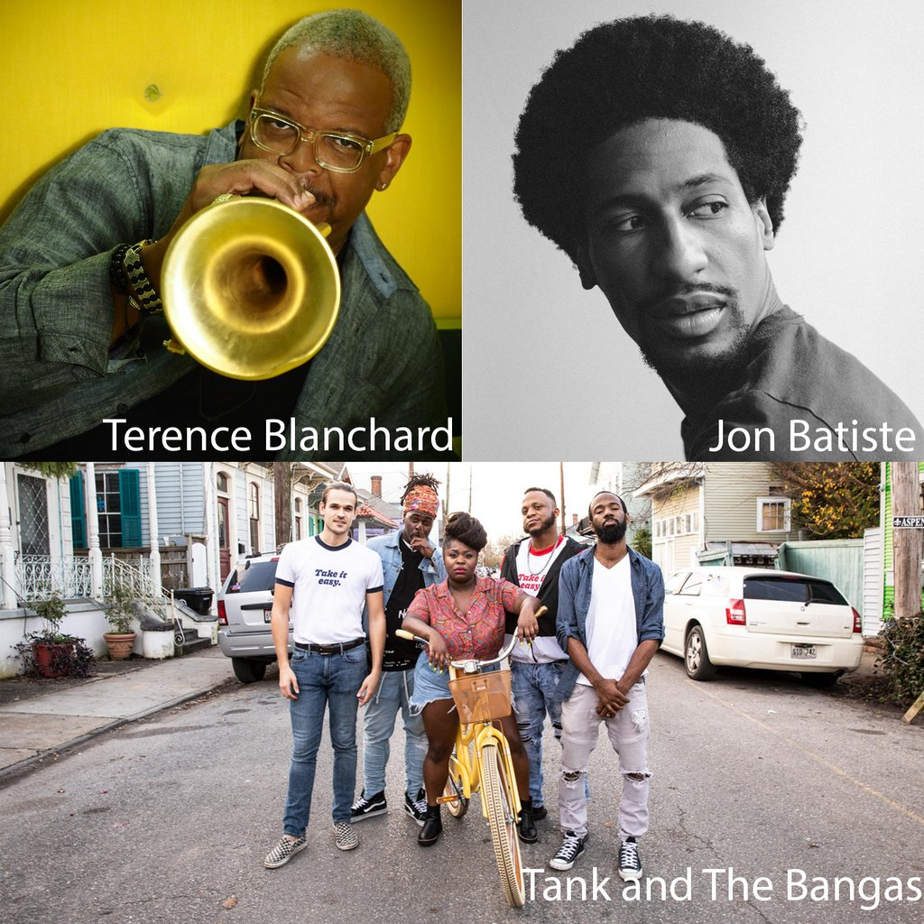 Whether it's a sultry ballad or breathless up-tempo cooker, experience jazz at #CarnegieHall w/ these incredible artists. Don't miss @T_Blanchard, @JonBatiste, @TankanddaBangas, Artemis, @LionelLoueke, @TonyDeSare, Capathia Jenkins (@CapaRichness) & more. bit.ly/2DdXyjk