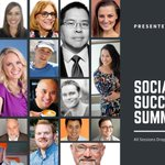 Save your money this #CyberMonday & register for our FREE Social Success Summit 2.0! Learn from industry leaders & brands like @Nimble, @thinkific, @QuiCC_app, @teameasil, @ecammtweets, @Wishpond & more! Register now: https://t.co/aEqrRohEpA #CyberMonday2019
