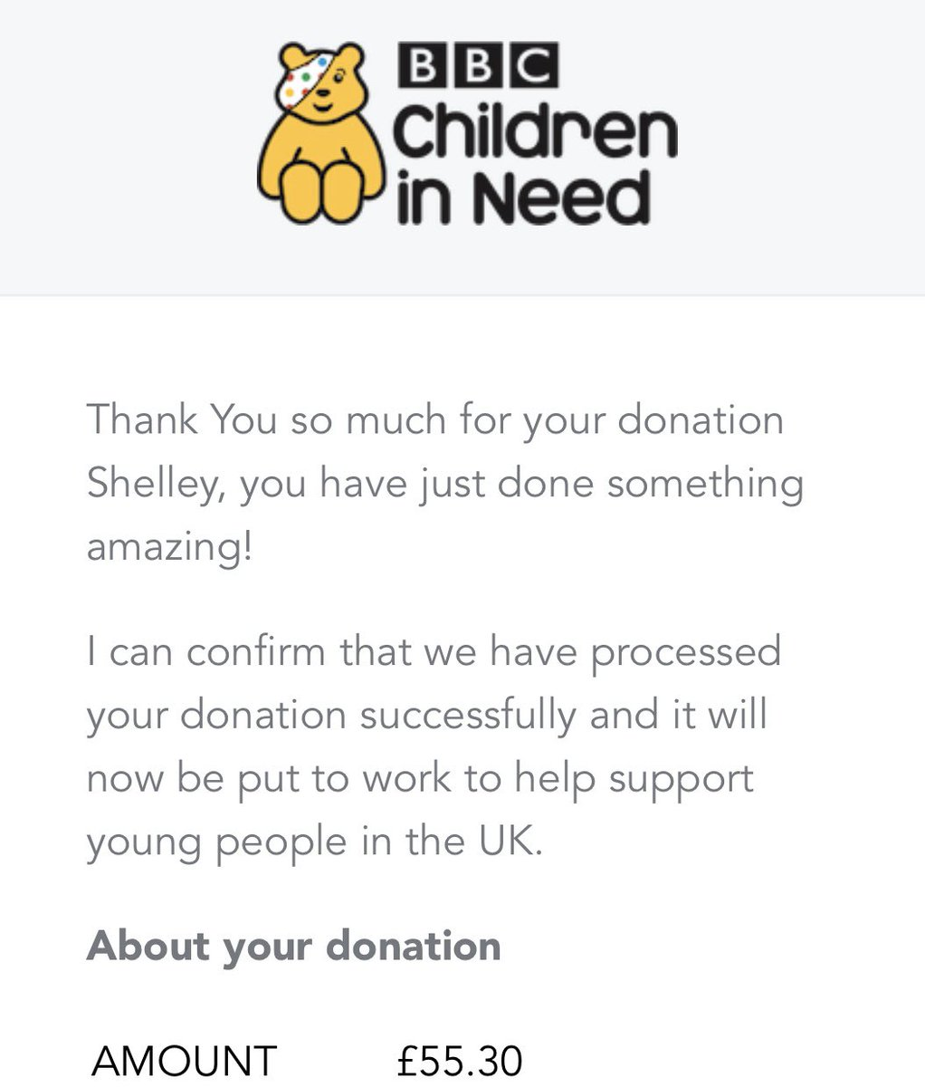 Steppin Out's donation to BBC Children in Need raised from our Odd Socks day!  • #steppinouttheatreschool #steppinout #thestreschool #bbc #bbcchildreninneed #fundraiser<br>http://pic.twitter.com/pikfIDh8Uk