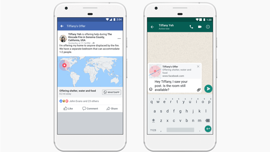 Facebook updates crisis response tools, adds WhatsApp integration by @sarahintampa