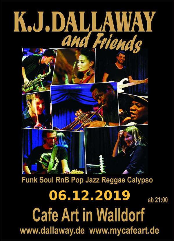 Am 06.12.2019 #K_J_Dallaway and Friends live Musik #Helena_Paul #Indra_Wahl #Marvin_Merkhofer ab 19:30 Uhr im #Café_Art Kleinfeldweg 42 - 69190 #Walldorf http://mycafeart.de/veranstaltungen/… #Wiesloch #Heidelberg #Reilingen #Sandhausen #Hockenheim #Speyer #StLeonRot #liveMusik #Musik #SAP