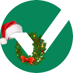 Image for the Tweet beginning: We created a Holiday Logo