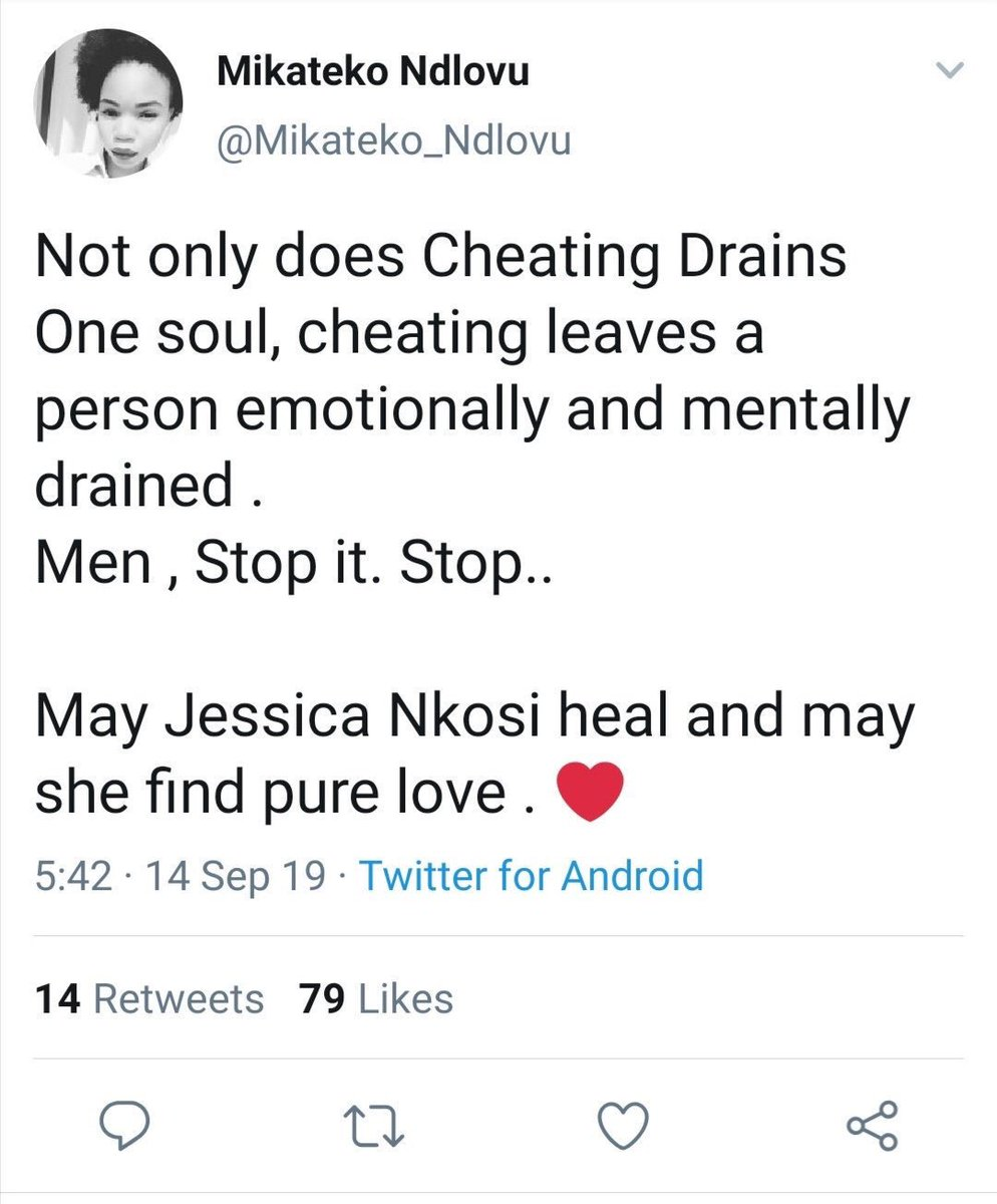 Black Coffee was cheating with his own penis. Leave him alone