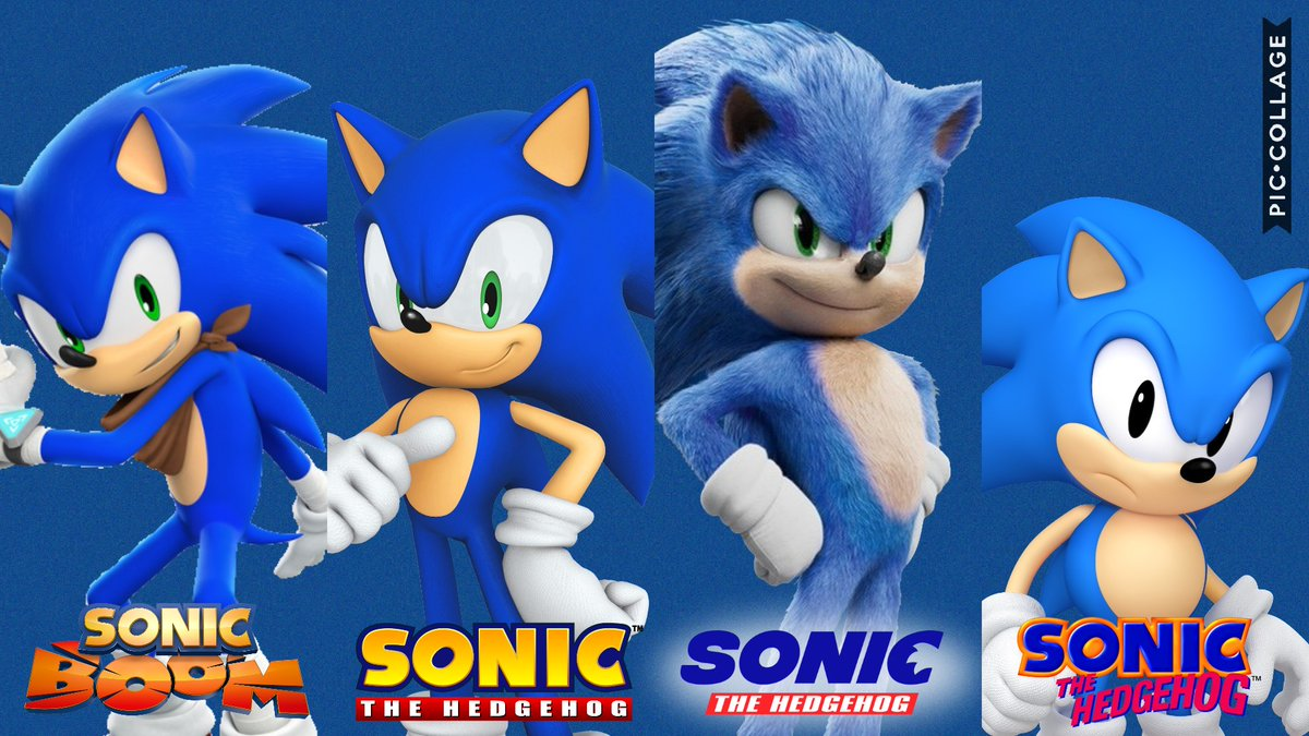 Sonic World 55 On Twitter Choose Your Favourite Sonic Classic Sonic Modern Sonic Sonic Boom Sonic Sonicmovie Sonic