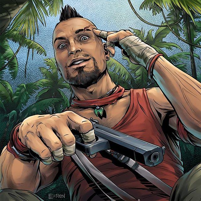 Far Cry 6 On Twitter This Vaas Fan Art Is Just Insane By Ekaterina Lyunenkova On Instagram Farcry3 Fc3 Vaas Fanart