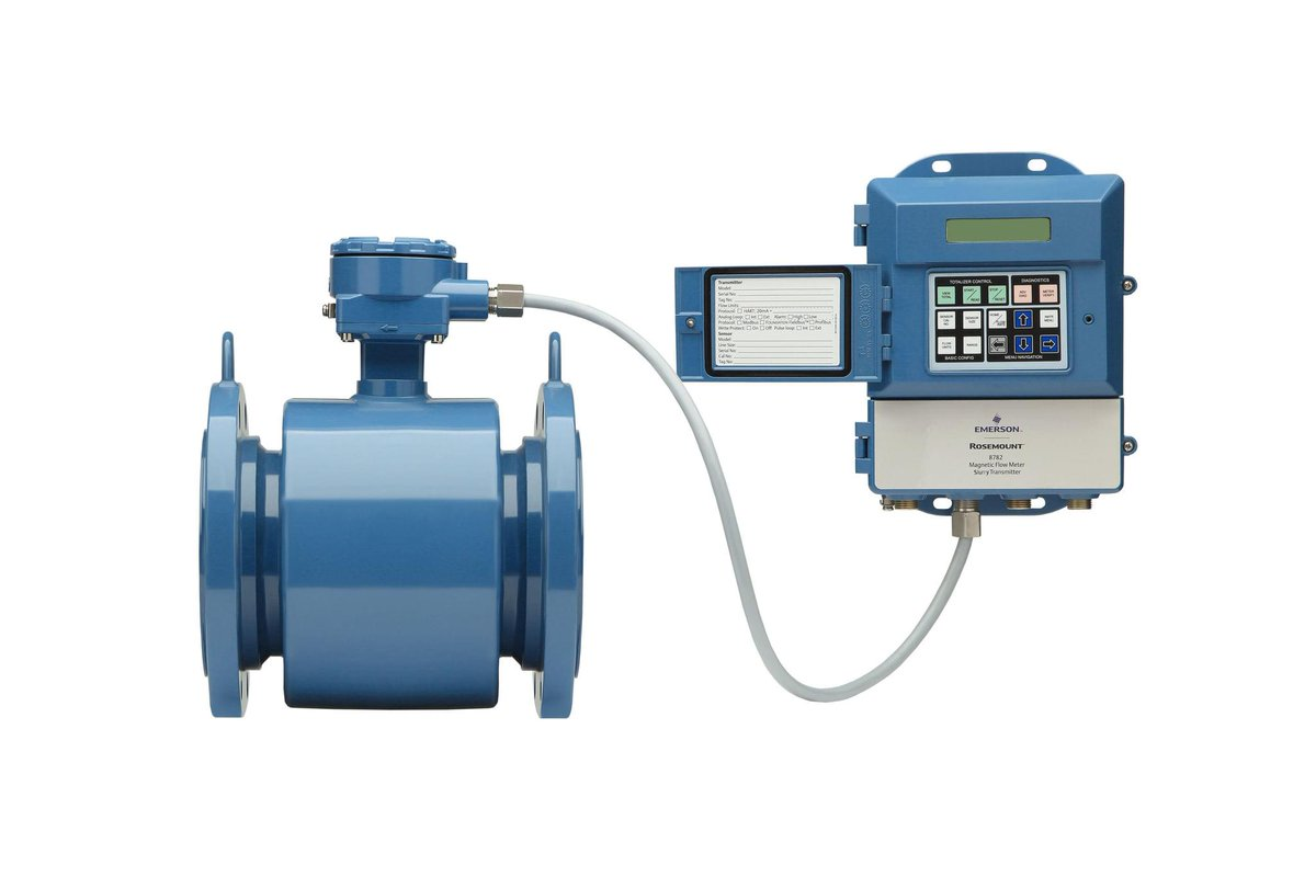 Emerson releases Rosemount MS sensor and 8782 transmitter! The Slurry Mag is an ideal solution for customers with fluids that contain large solids, mining ore, pulp, sand or experience high process noise or signal instability. http://emr.sn/1EV3