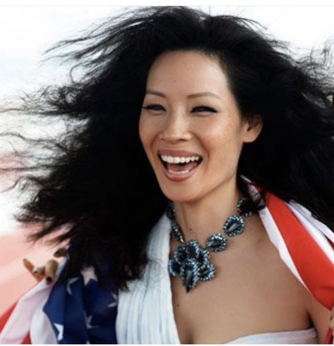 *Destiny s Child voice* Lucy Liu  Wishing the top tier Charlie s Angel a Happy Birthday!