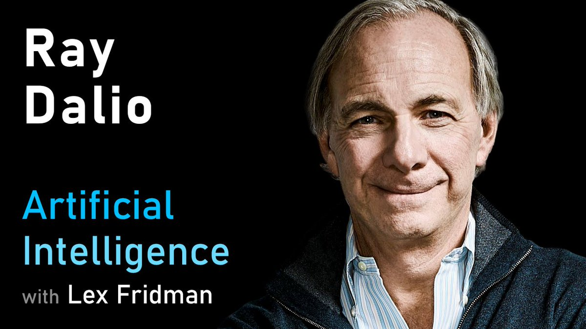 Heres my conversation with Ray Dalio (@RayDalio). He is the founder of Bridgewater Associates, famous for the practice of radical truth & transparency, and is the author of Principles, an invaluable book of wisdom for business and life. Full conversation: youtube.com/watch?v=M95m2E…