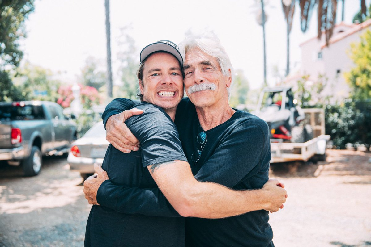 Legend and forever heartthrob Sam Elliott joins us in the attic today!! Please enjoy! ❤️🍒❤️