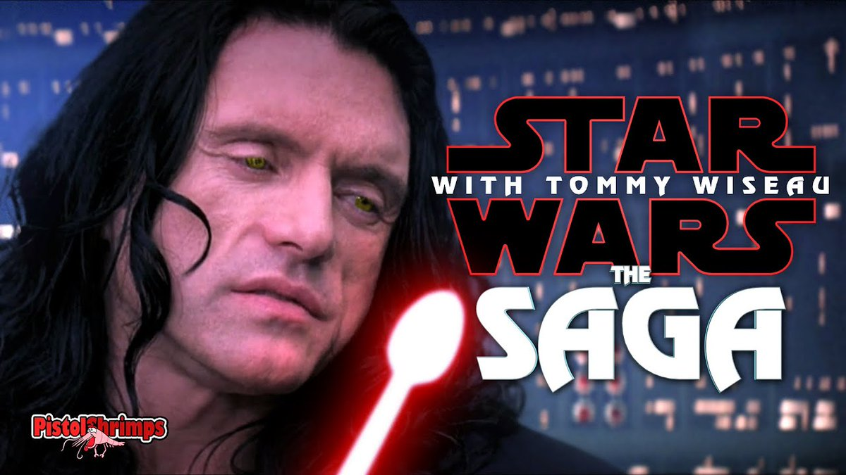 Anakin Skywalker and Tommy Wiseau are in love in this bonkers Star Wars spoof