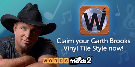 Our @garthbrooks Vinyl Tile Style is almost gone! Claim yours now before it's too late: words2.app.link/GarthBrooksTW
