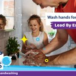 Image for the Tweet beginning: Parents: #Handwashing keeps your family