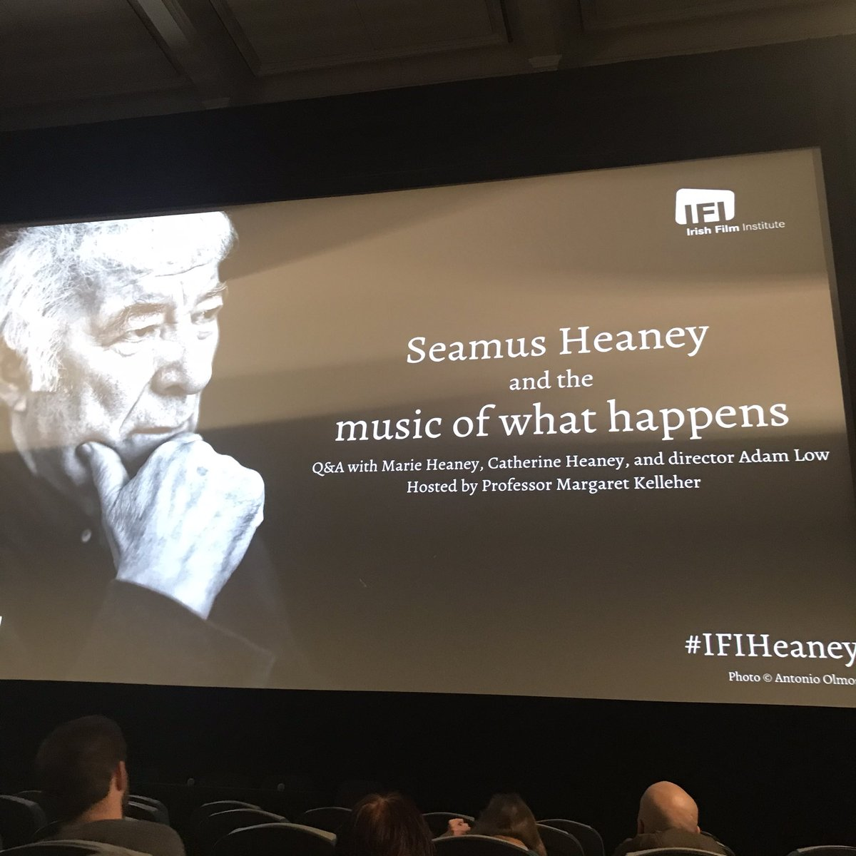 Here we go! Looking forward to another great screening of SH and the Music of What Happens @IFI_Dub!