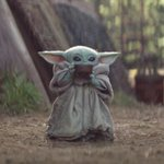 Image for the Tweet beginning: Thinking about how Baby Yoda's