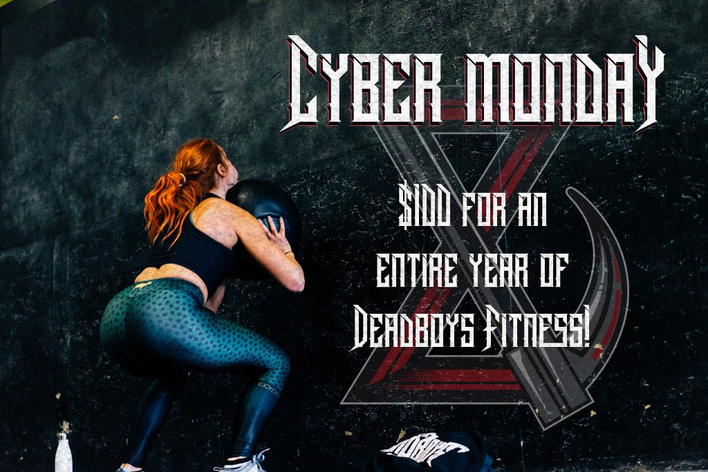 Fitness for everyone. https://deadboysfitness.wodify.com/OnlineSalesPortal/PurchaseByKeyEntry.aspx?Key=tHV1JZlQ6Q3k27OI07X1mGZ8V… #CyberMondayDeals #deadboysfitness