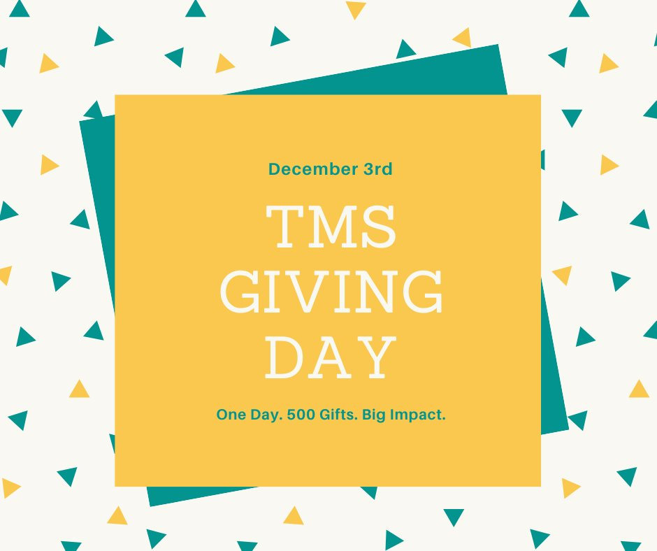 ONE MORE DAY! Tomorrow is the #TMSGivingDay! Please follow us on FB, and help us reach our goal! #education #FredericksburgVA #helpingstudentssucceed<br>http://pic.twitter.com/esQbrt6XDa
