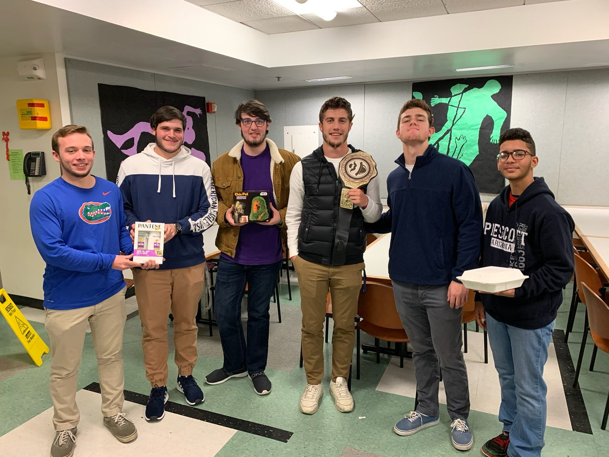 Students and teachers who pledged not to shave during #NoShaveNovember raised $150 for http://Movember.com to benefit men's mental health, suicide prevention and cancer programs. Thanks to all who participated and to the #bestbeard winners! pic.twitter.com/ug8QlaEF85