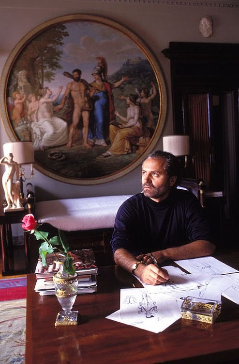 Happy birthday to the great, Gianni Versace.