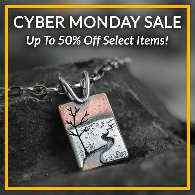 We added more items to the sale today! Spin the Prize Wheel for extra discounts, sale ends at 11:59pm EST 12/2.  . . . #cybermonday #handmadejewelrysale #jewelrysale #bethmillnerjewelry #yooperstyle #downtownmarquette #yooper #hand…