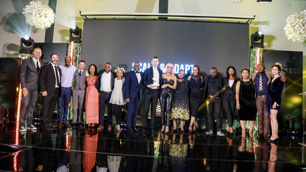 The #CreativeX Award for Scale & Adapt is awarded to a brand evolving an existing @AbinBev idea & scale it to increase impact. This award goes to @blacklabelsa for #CarlingCup 🏆