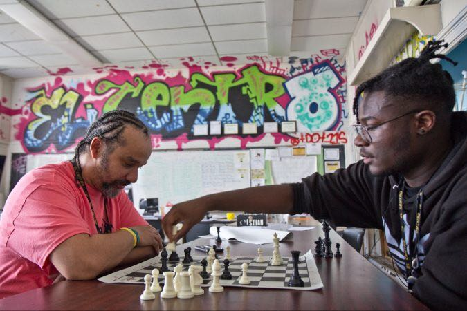 The compelling story of el Centro students carving out their personal pathway. whyy.org/episodes/last-…