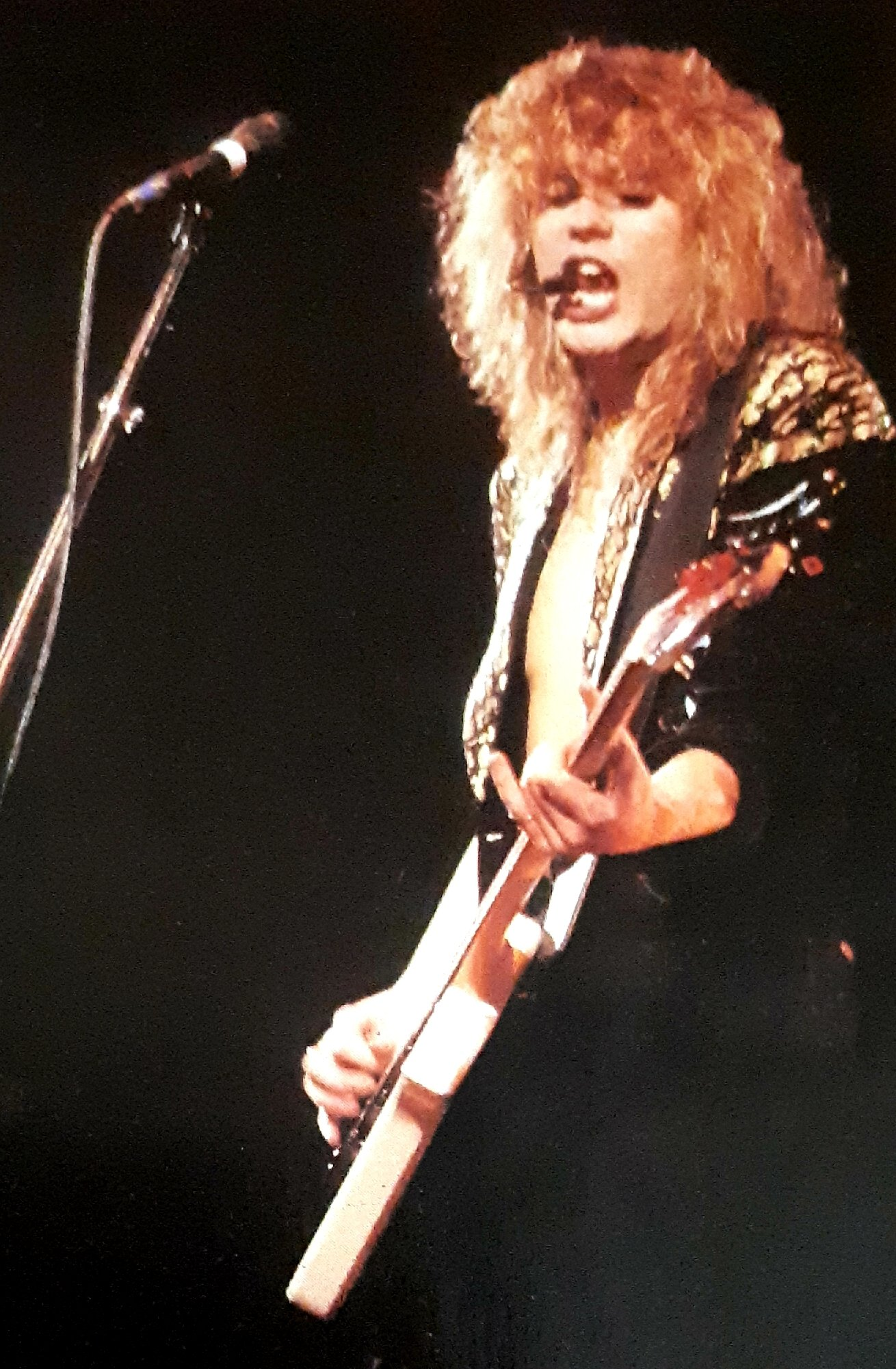 Happy Birthday to the great Def Leppard \s bass player Rick Savage