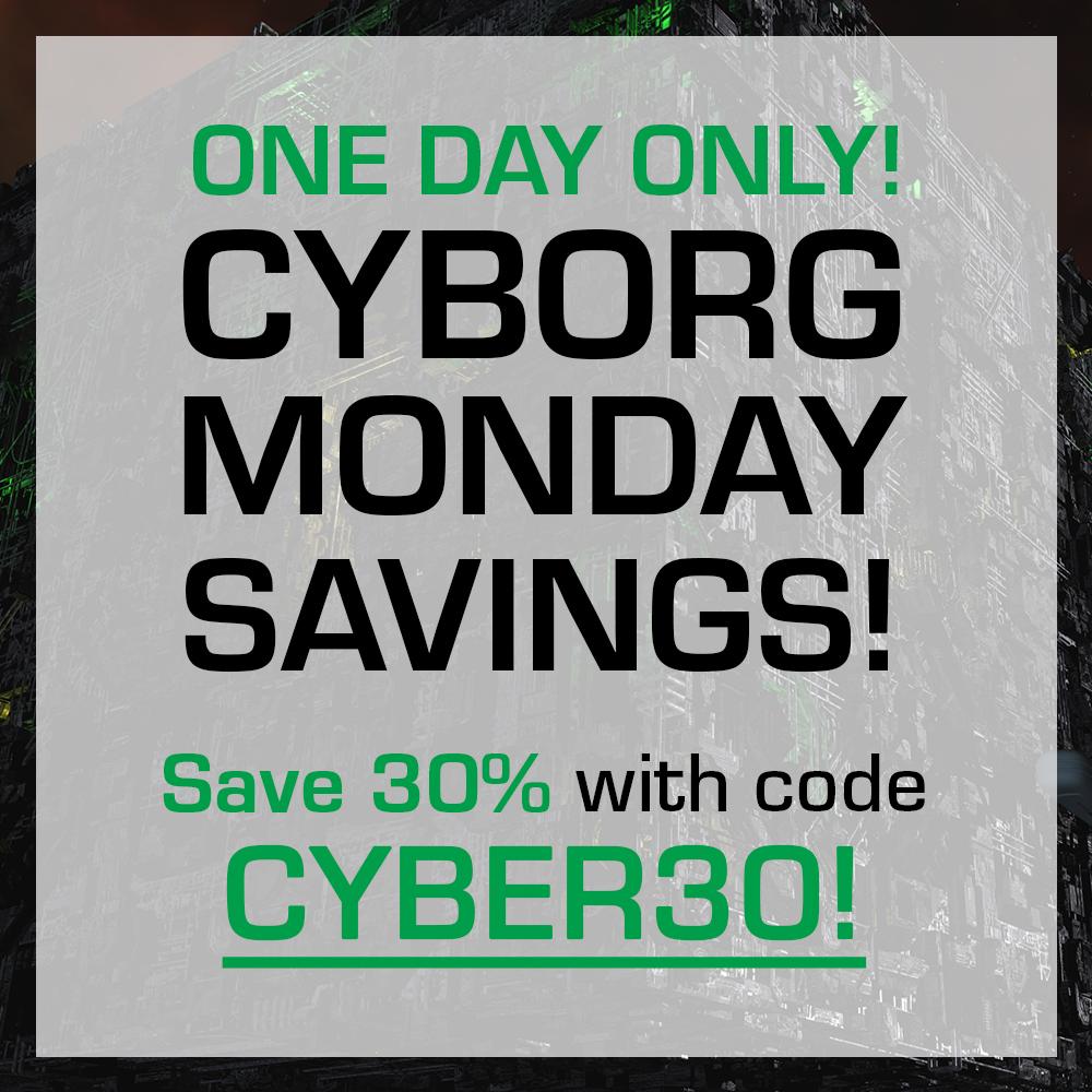 Start crossing off items on your #StarTrek wish list today 👍 #CyberMonday #holidays bit.ly/STCyberMonday
