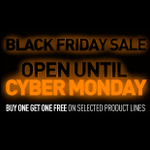 LAST CHANCE - JUST A FEW HOURS LEFT. Black Friday Buy 1 Get 1 FREE! To view all of the associated products, click here: https://t.co/8ehrRigZ30 - FREE delivery to most UK destinations. Sale ends midnight on Cyber Monday 2nd December