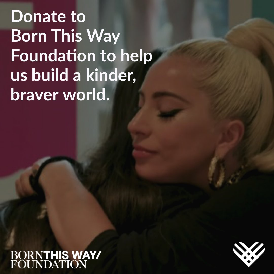 On #GivingTuesday, consider donating to @btwfoundation. Your donation will go to programs, research, and campaigns all in service to promote a kinder, braver world that validates the emotions of young people globally🌈☮🤟facebook.com/donate/7906662…