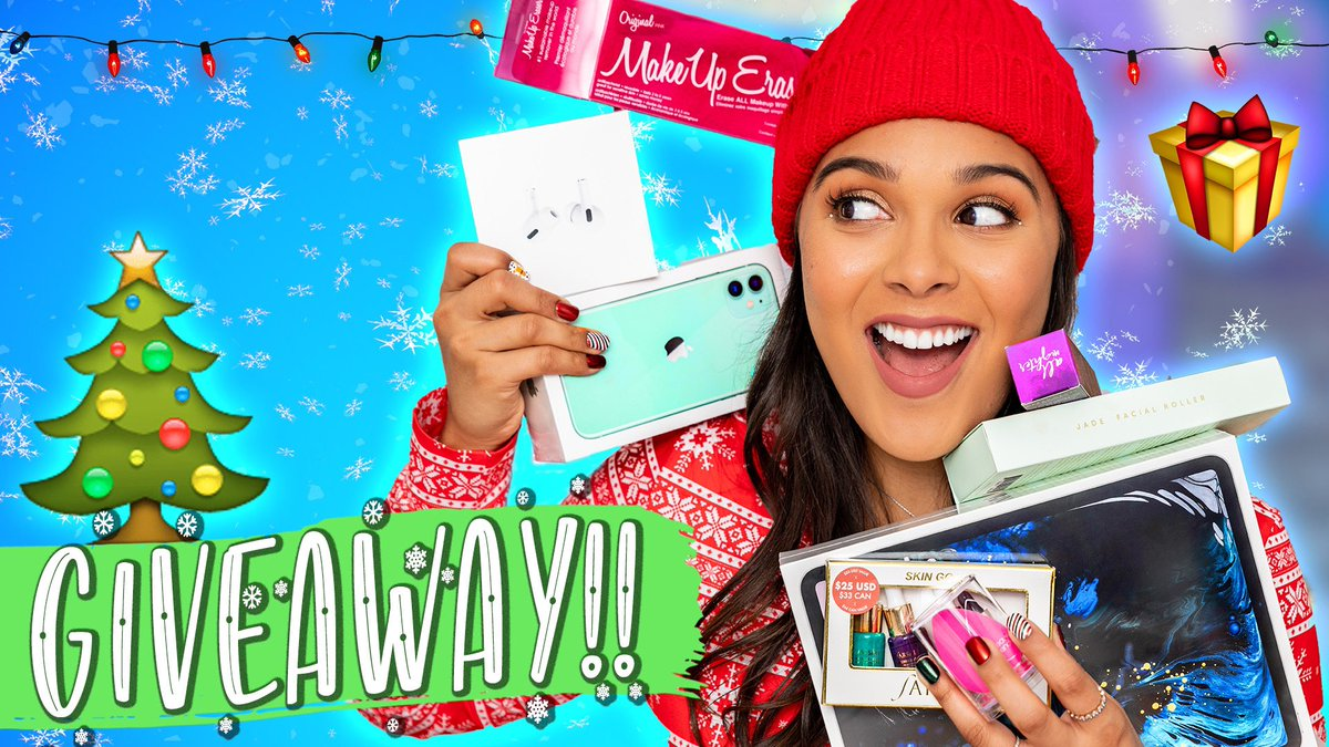 RT if you're excited to win!!  EXCITING HOLIDAY GIVEAWAY! (yes, you're going to want to watch this)