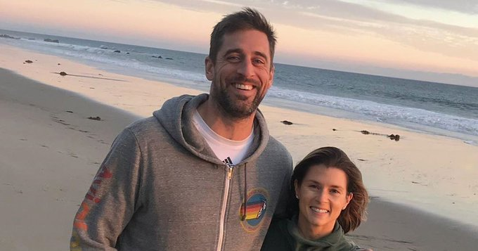 Danica Patrick Wishes Uber Attractive Man Aaron Rodgers a Happy Birthday - Us Weekly