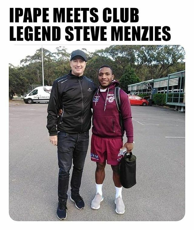 Edwin Ipape on the way to training with Manly Sea Eagles Club Legend Steve Menzies. Let's go son,  . . #papuanewguinea #rugbyplayer #rugbyfamily #nrlgrandfinal #nrlfinals #nrl #manlyferry #rugbygram #manlyphall #manlyseaeagles #prilaga #nrlgf #man… https://ift.tt/34HWvEDpic.twitter.com/8JjRwaHHfv