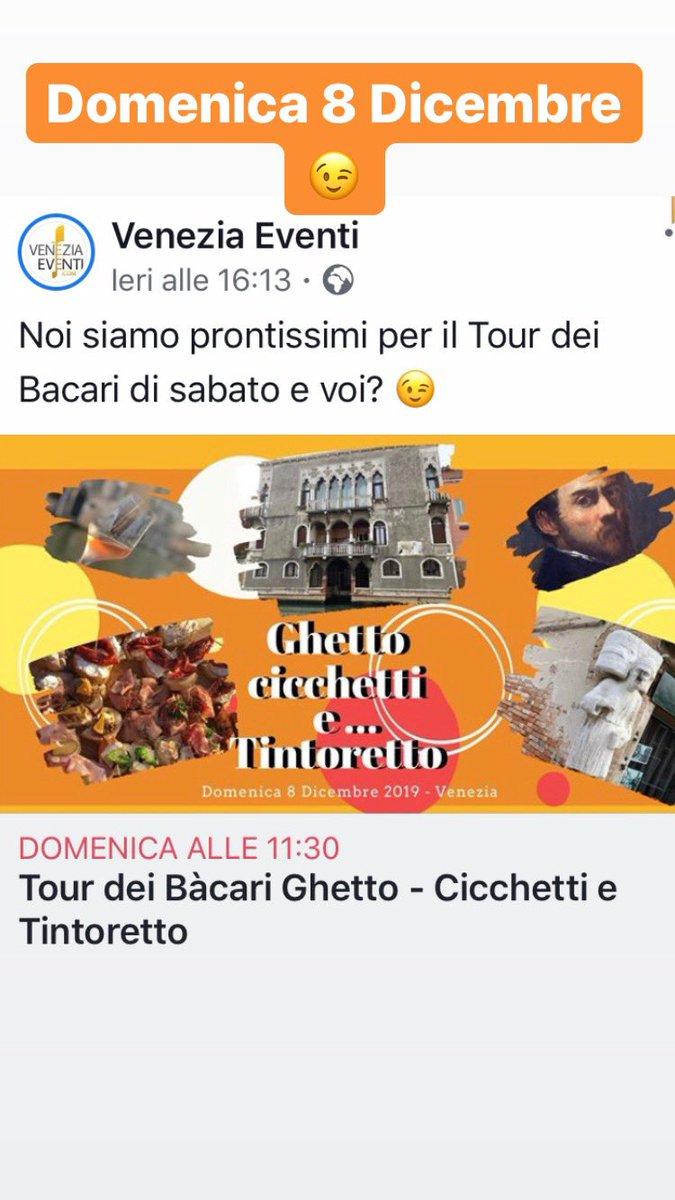 Siete pronti? Ghetto - Cicchetti e Tintoretto è v...